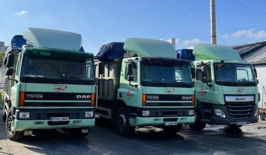 Instalaciones y camiones gestión subproductos de pescado